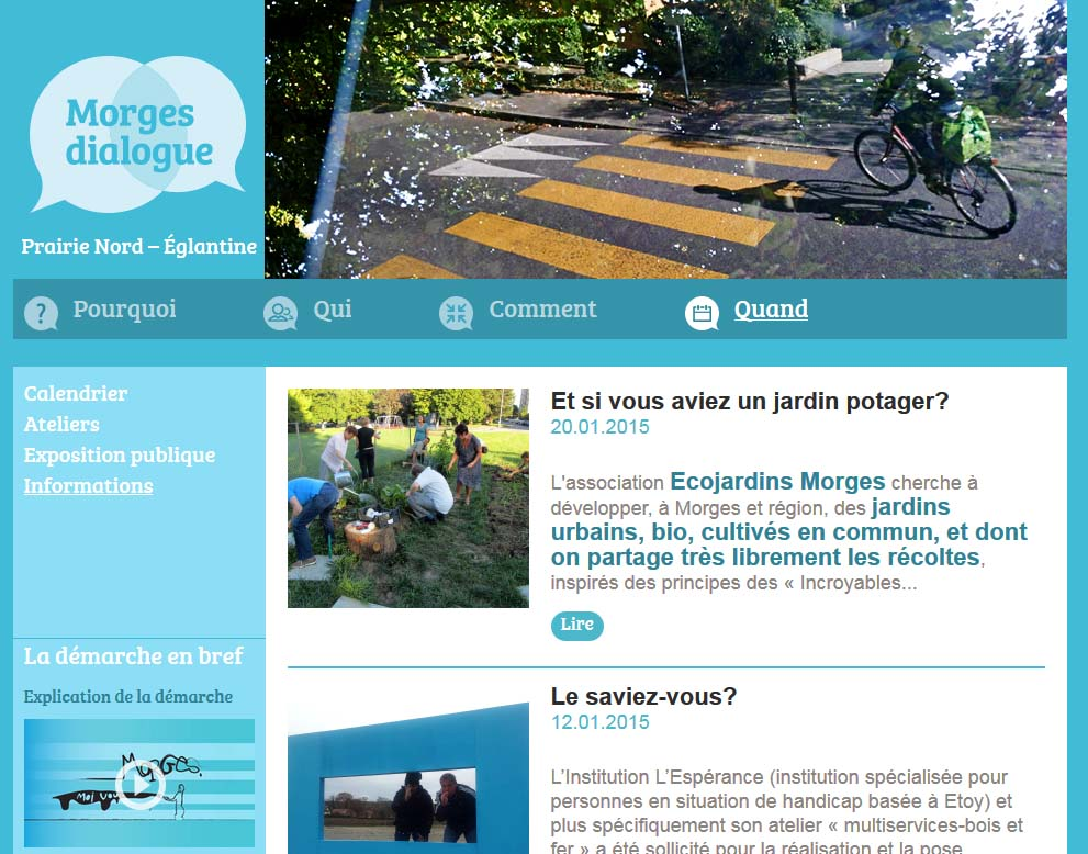 homepage Morges Dialogue